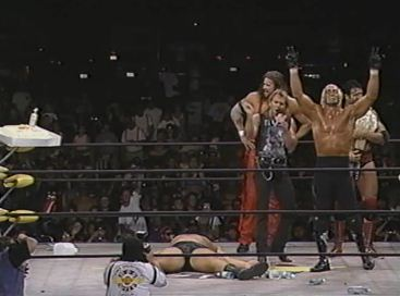 Hog Wild 1996 Hogan Celebration