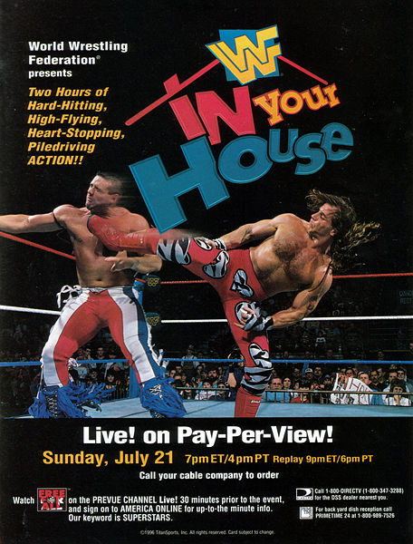 WWF In Your House #9, International Incident