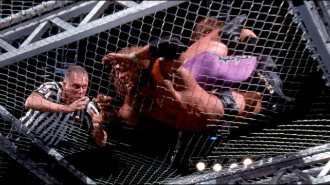 Judgment Day 2002 Triple H vs Chris Jericho Hell In A Cell