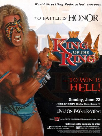 King Of The Ring 1996 poster