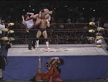 Outsiders vs Sting & Luger Hog Wild 1996