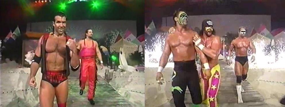Outsiders vs Team WCW