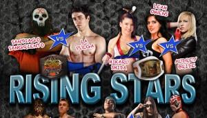 """Poster del show de RCW """"Rising Stars"""""""