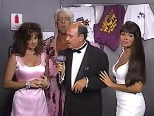 Ric Flair Miss Elizabeth Woman & Okerlund