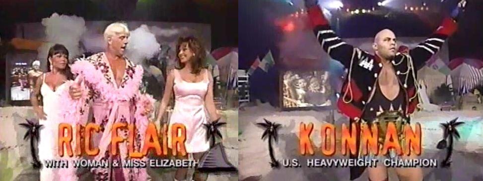 Ric Flair vs Konnan