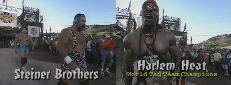 Steiner Brothers vs Harlem Heat