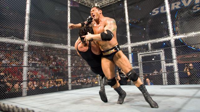 Survivor Series 2007 Undertaker vs Batista Hell In A Cell