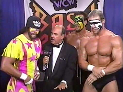 Team WCW Sting Savage Luger