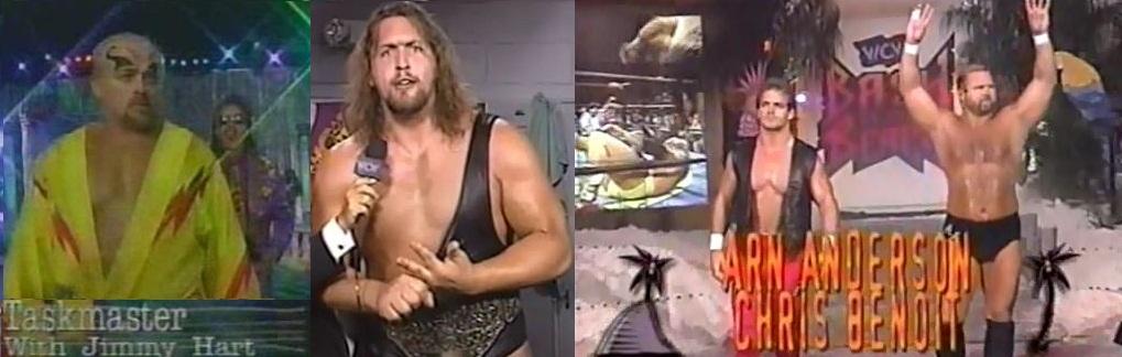 The Giant &; Kevin Sullivan vs Benoit &  Anderson