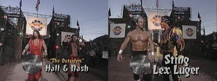 The Outsiders vs Sting & Lex Luger