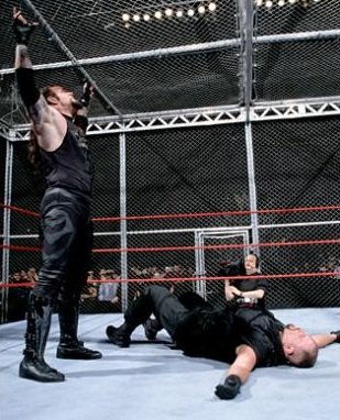Wrestlemania XV Undertaker vs The Big Boss Man Hell In A Cell