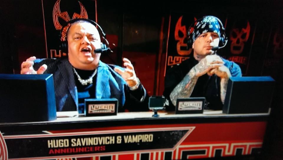 Hugo Savinovich y Vampiro Lucha Underground