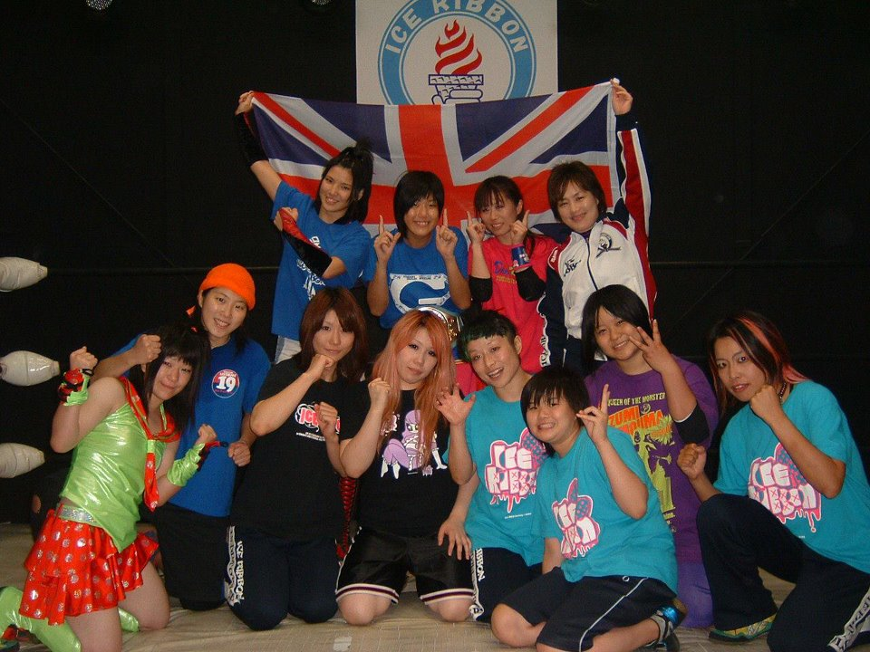 Ice Ribbon girls