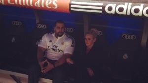 Lana y Rusev en el Santiago Bernabeú