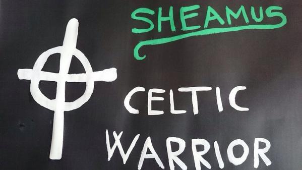 Sheamus Celtic Warrior