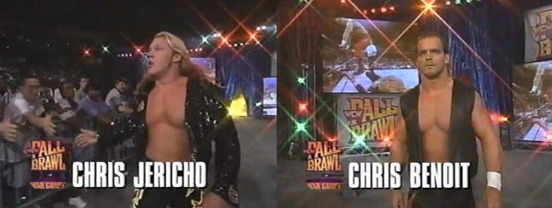 Chris Jericho vs Chris Benoit