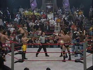 Kid Kash, Dallas & The Naturals vs Ron Killings, Erik Watts, Johnny B. Badd & Pat Kenney