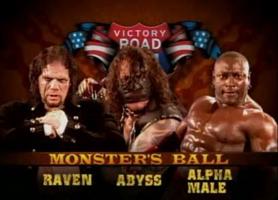 Monster's Ball Abbys vs Raven vs Monty Brown