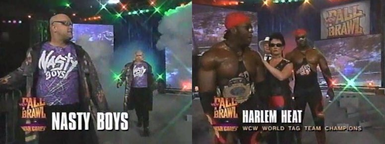 Nasty Boys vs Harlem Heat