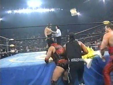 nWo Attacks Randy Savage