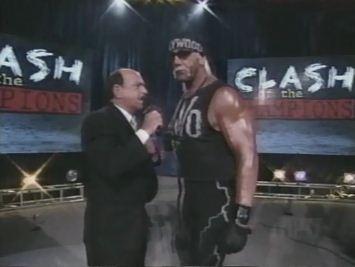 Okerlund y Hogan