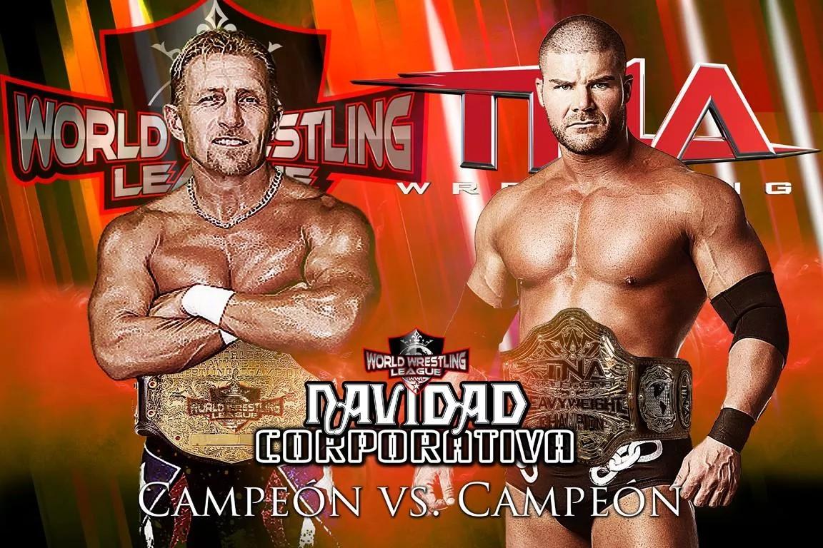 Por el Campeonato Mundial de la WWL Shane The Glamour Boy (Campeón) vs El campeón peso completo de TNA Booby Roode