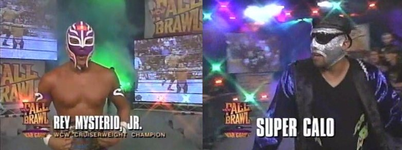 Rey Mysterio Jr vs Super Calo
