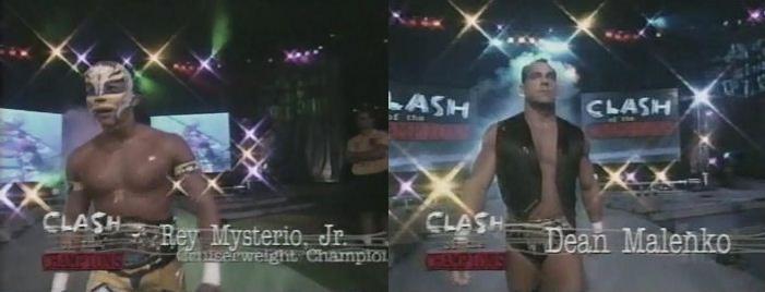 Rey Mysterio vs Dean Malenko