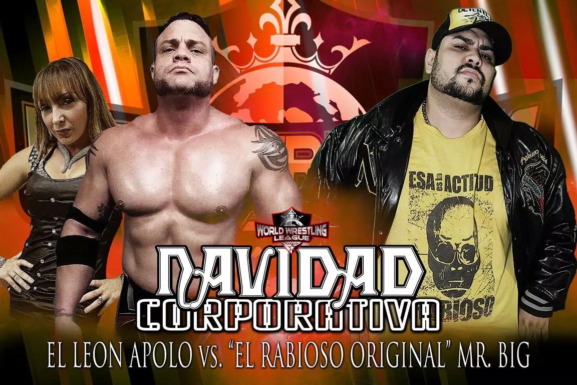Riña Personal El León Apolo con la Diosa Habanna vs El Rabioso Original Mr. Big