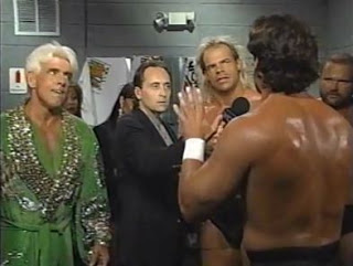 Sting Talks with Team WCW