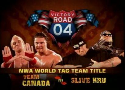 Team Canadá vs 3Live Kru