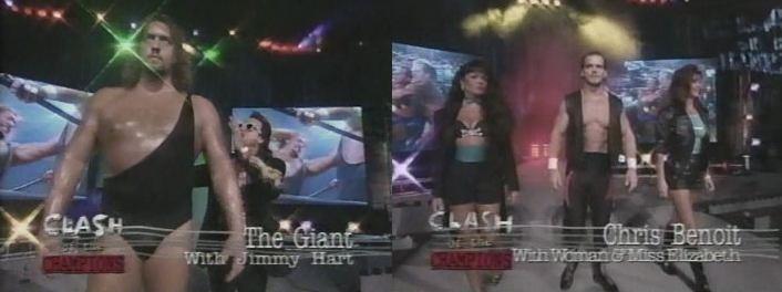 The Giant vs Chris Benoit
