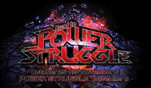 "NJPW ""ROAD TO POWER STRUGGLE"""