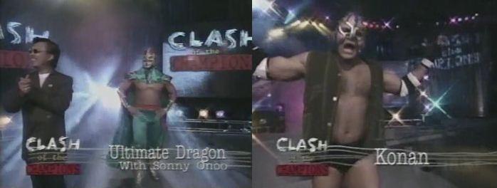 Ultimate Dragon vs Konnan