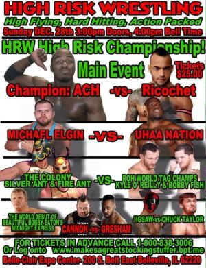 high risk wrestling