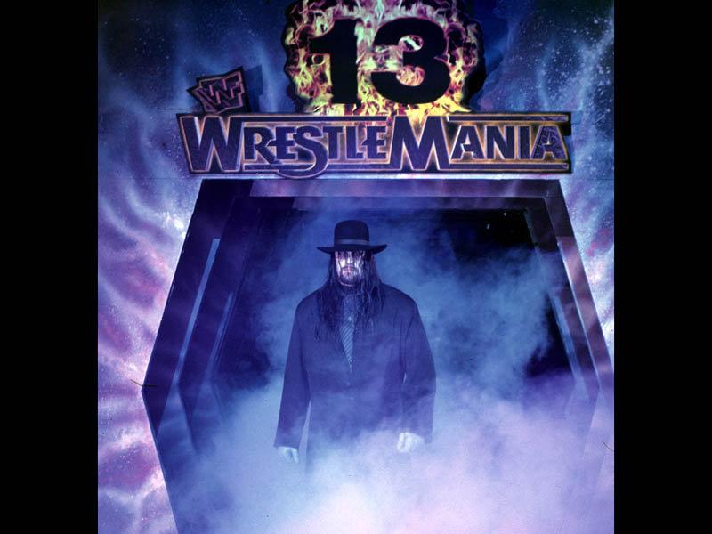 The Undertaker WM 13