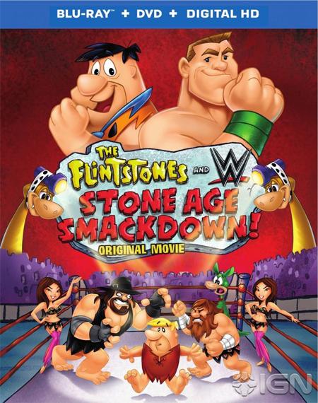 WWE y los picapiedra