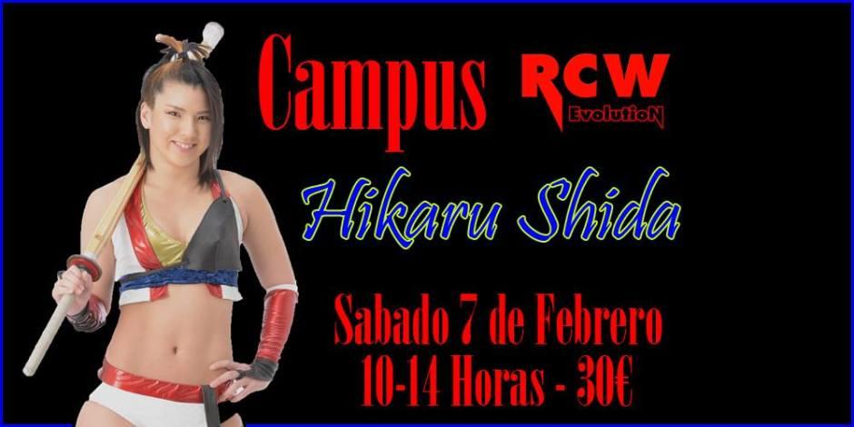 Campus Hikaru Shida RCW