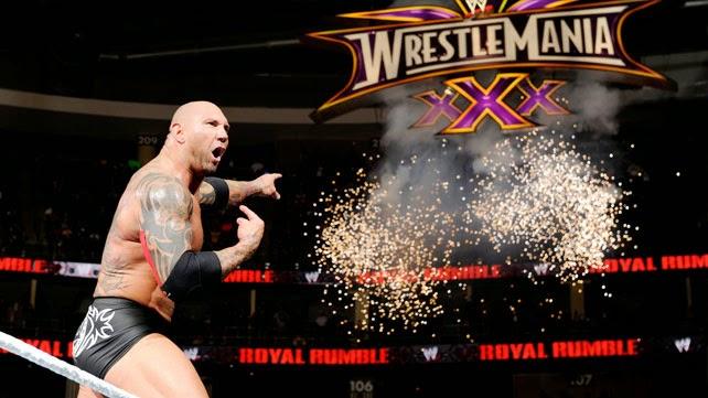 Batista Royal Rumble 2014