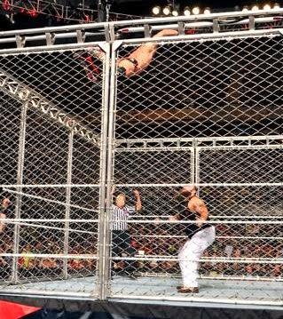 chris jericho vs bray wyatt steel cage match