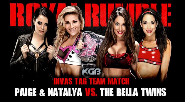 Natalya & Paige vs. Brie Bella & Nikki Bella