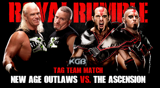 The New Age Outlaws vs. The Ascension