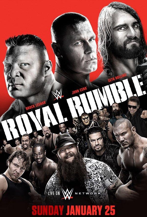 nuevo cartel de Royal rumble