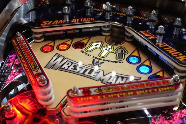 pinball wrestlemania