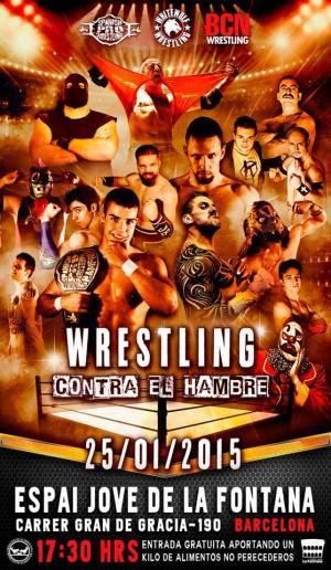 WRESTLING CONTRA EL HAMBRE