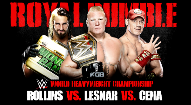 WWE Championship  Royal Rumble