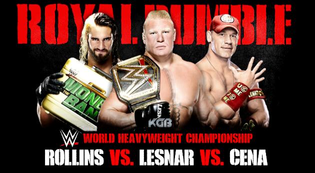 WWE Championship  Royal Rumble