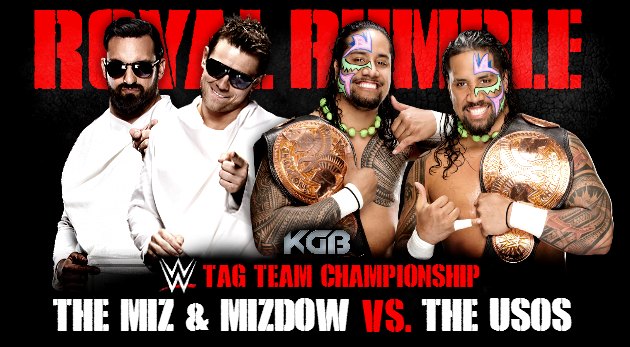 WWE Tag Team Championship  KGB 2