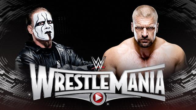 Sting vs. Triple H WrestleMania 31