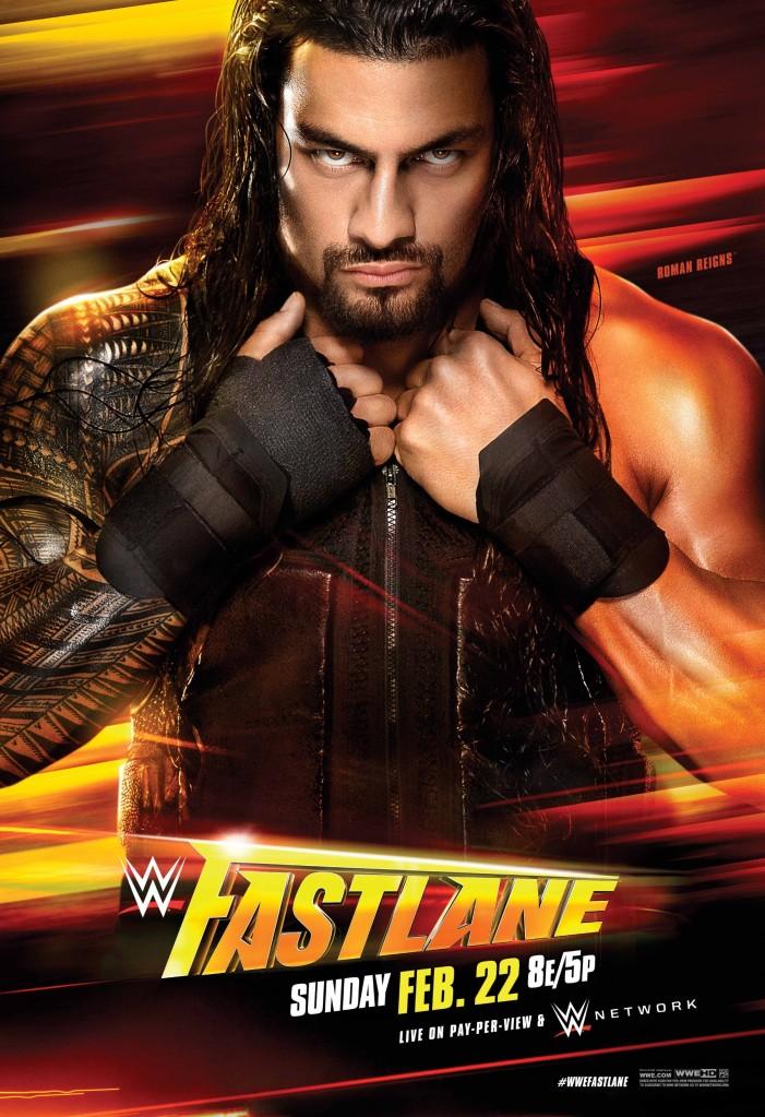 Poster WWE Fastlane 2015